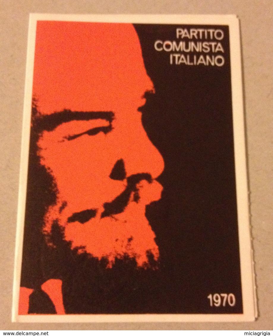 TESSERA VECCHIO PARTITO COMUNISTA 1970 - Vieux Papiers