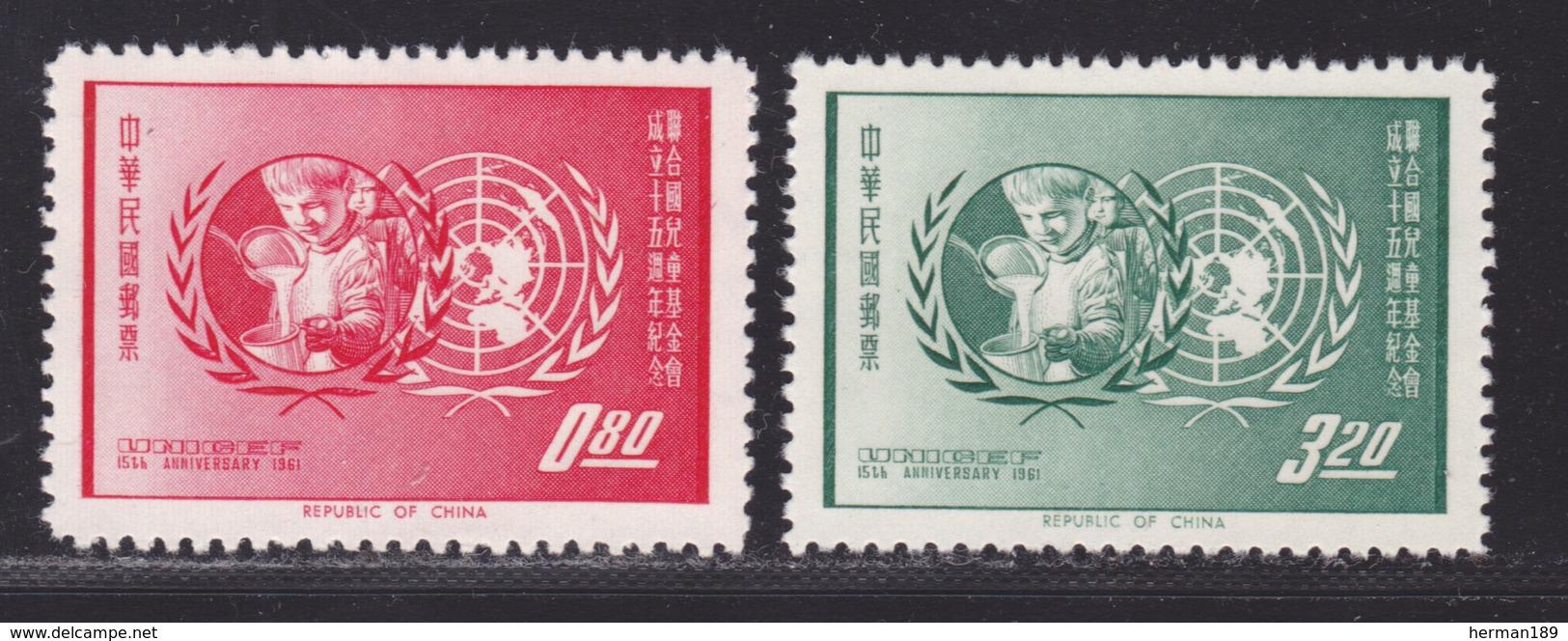 FORMOSE N°  403 & 404 (*) MNH Neufs Sans Charnière, Sans GommeTB (D5830) UNICEF - 1945-... Republic Of China