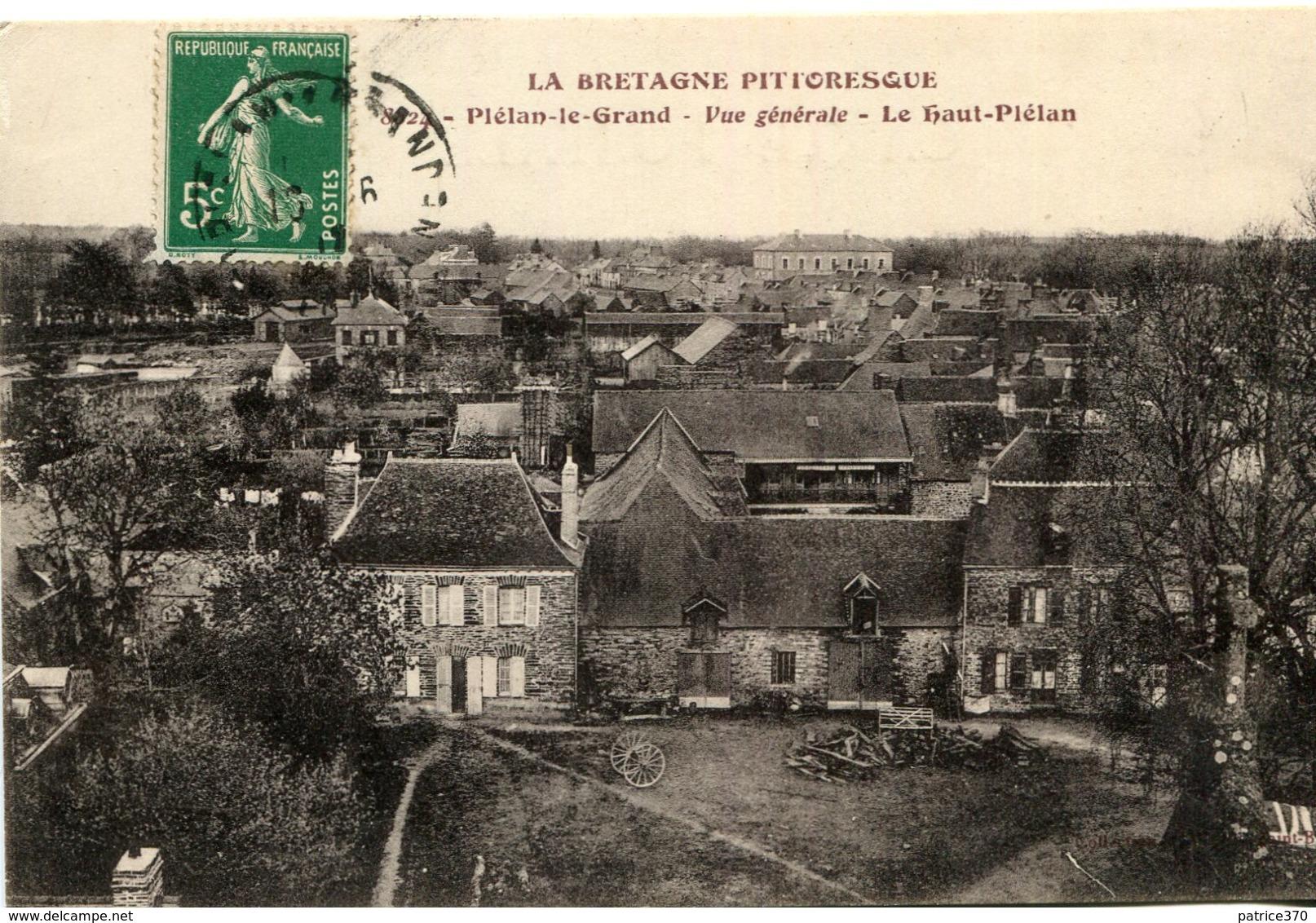 PLELAN LE GRAND - Vue Générale Le Haut Plélan - Autres Communes