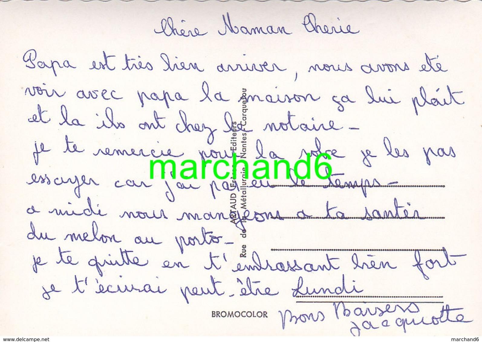 Maine Et Loire Chemillé Vue Générale Place St Pierre Chateau Polignac Salboeuf Frappinière Faultrière Cloitres éd Artaud - Chemille