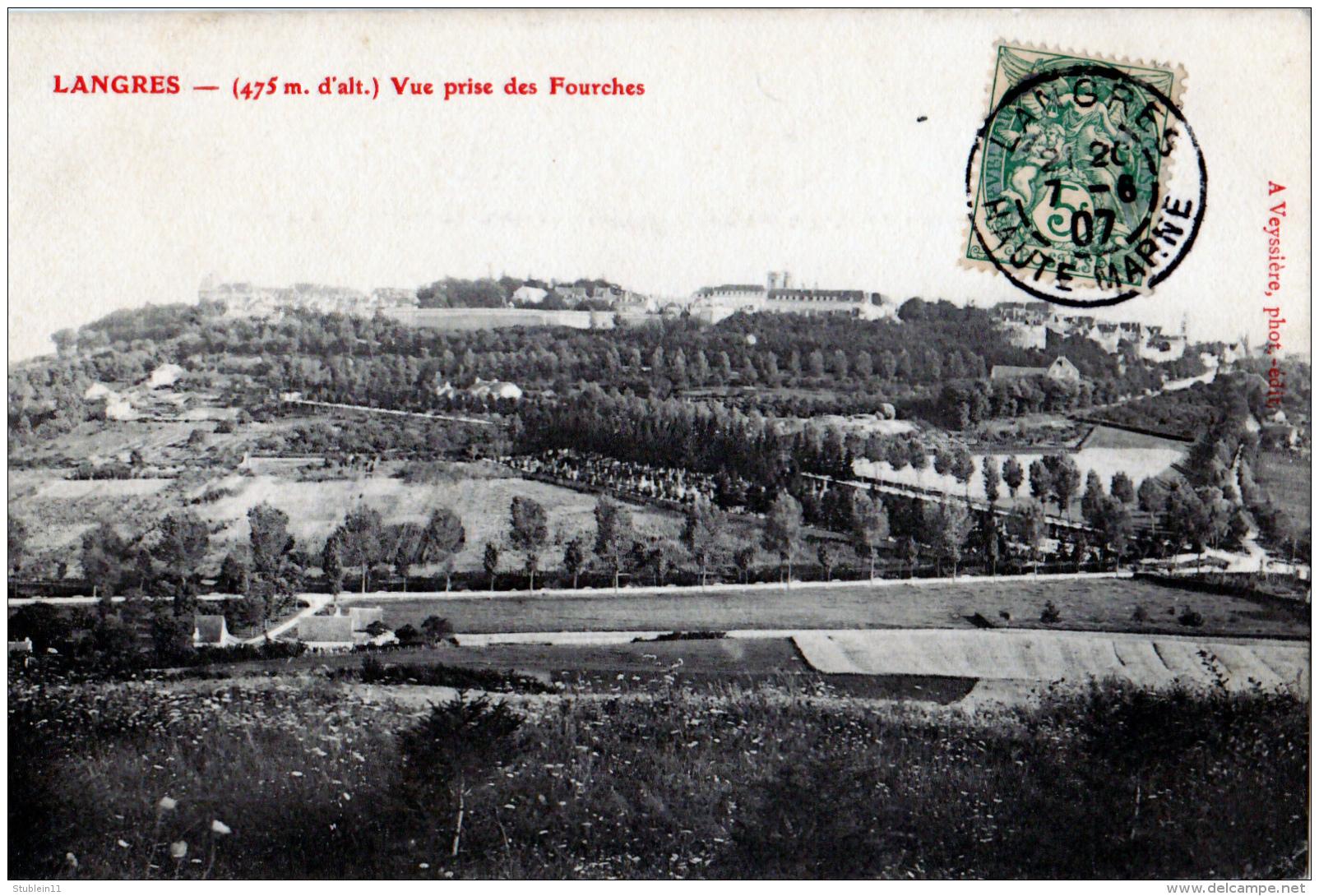 Langres (Haute-Marne) Aspect Général - Langres