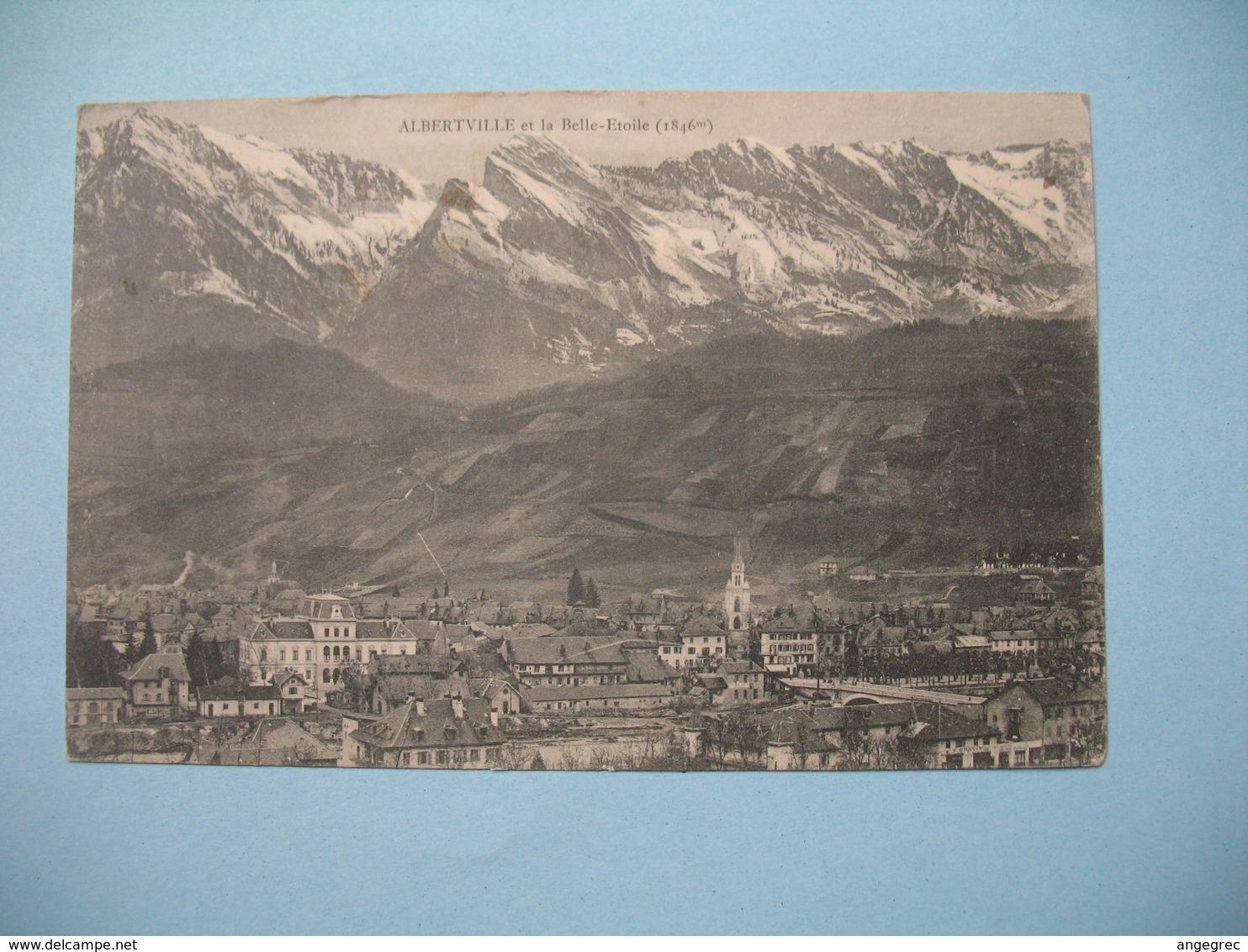 CPA Albertville  Et La Belle-Etoile   1909 - Albertville
