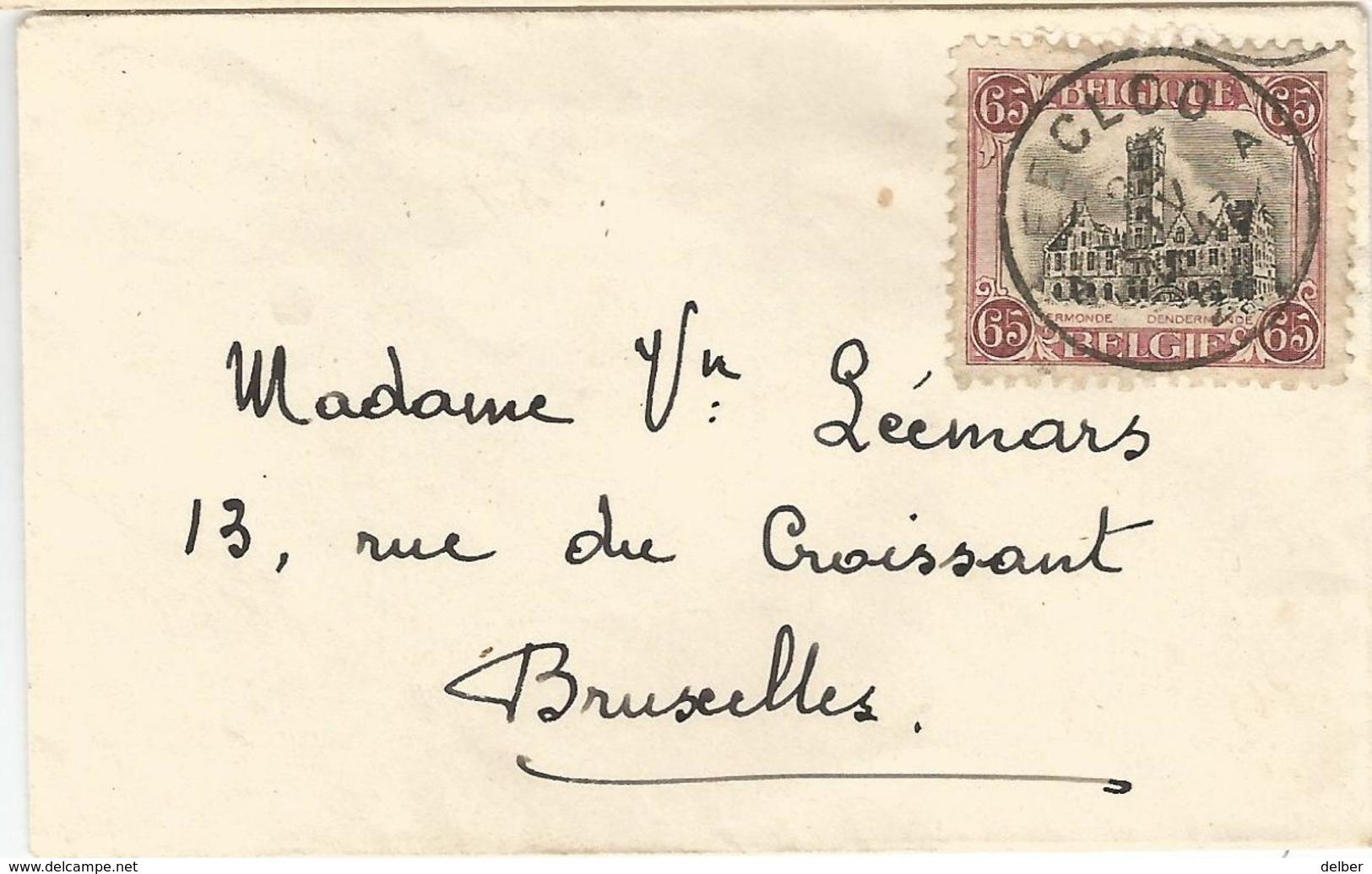 6Mm-953: N° 182: A EECLOO A > Bruxelles - Belgium