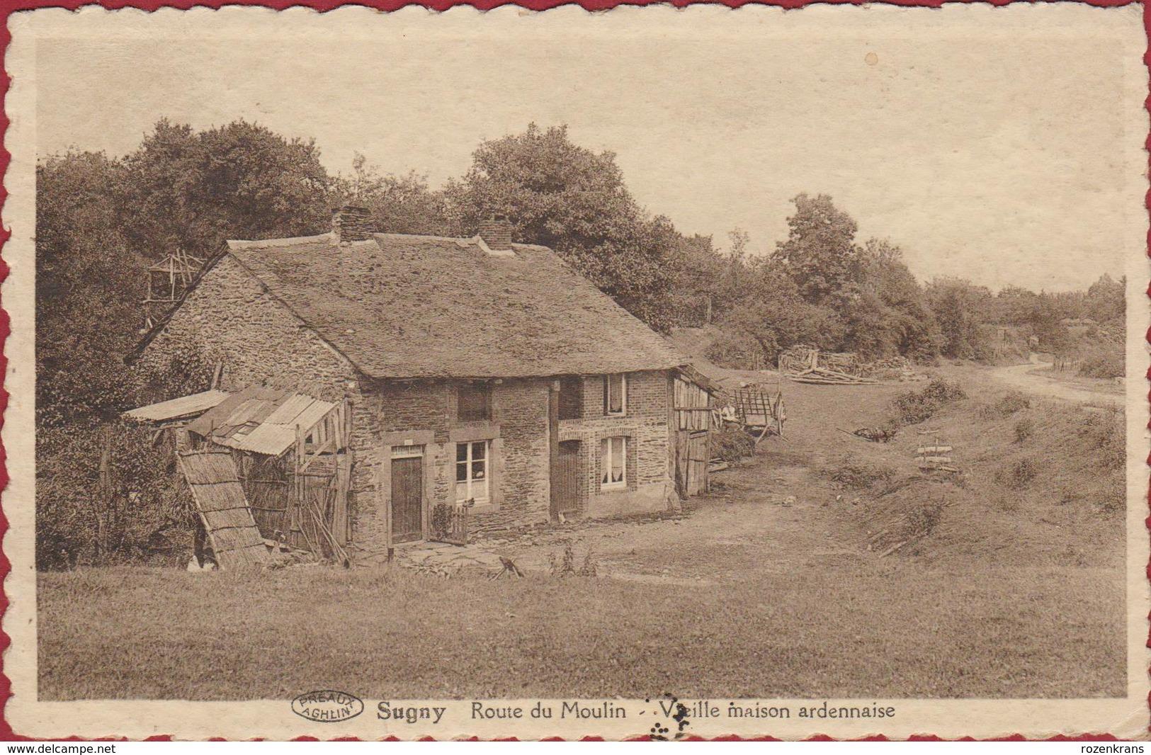 Sugny - Route Du Moulin - Vieille Maison Ardennaise Vresse-sur-Semois - Vresse-sur-Semois