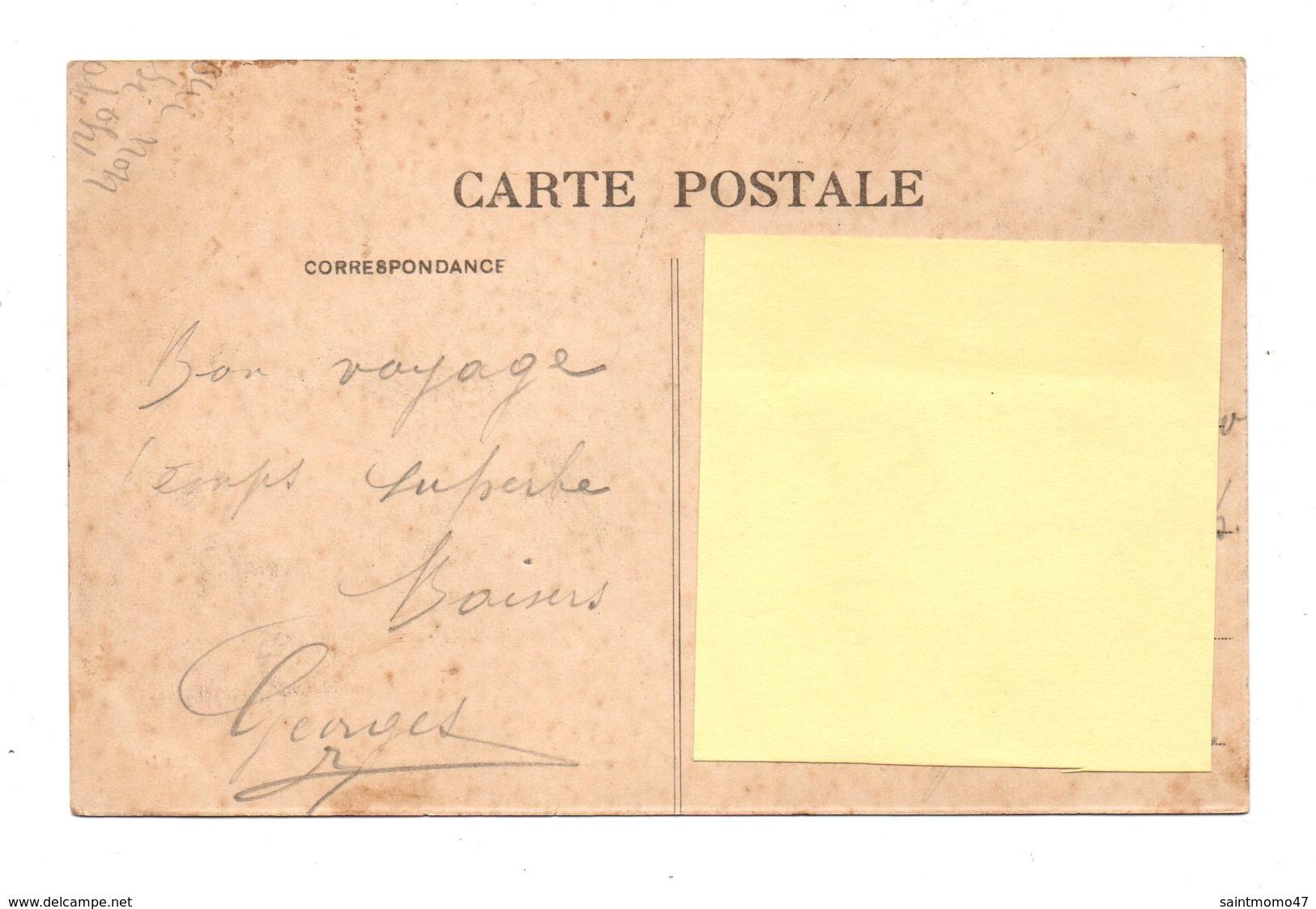 33 - ARCACHON . LE BASSIN ET LE NOUVEAU BOULEVARD-PROMENADE - Réf. N°8263 - - Arcachon