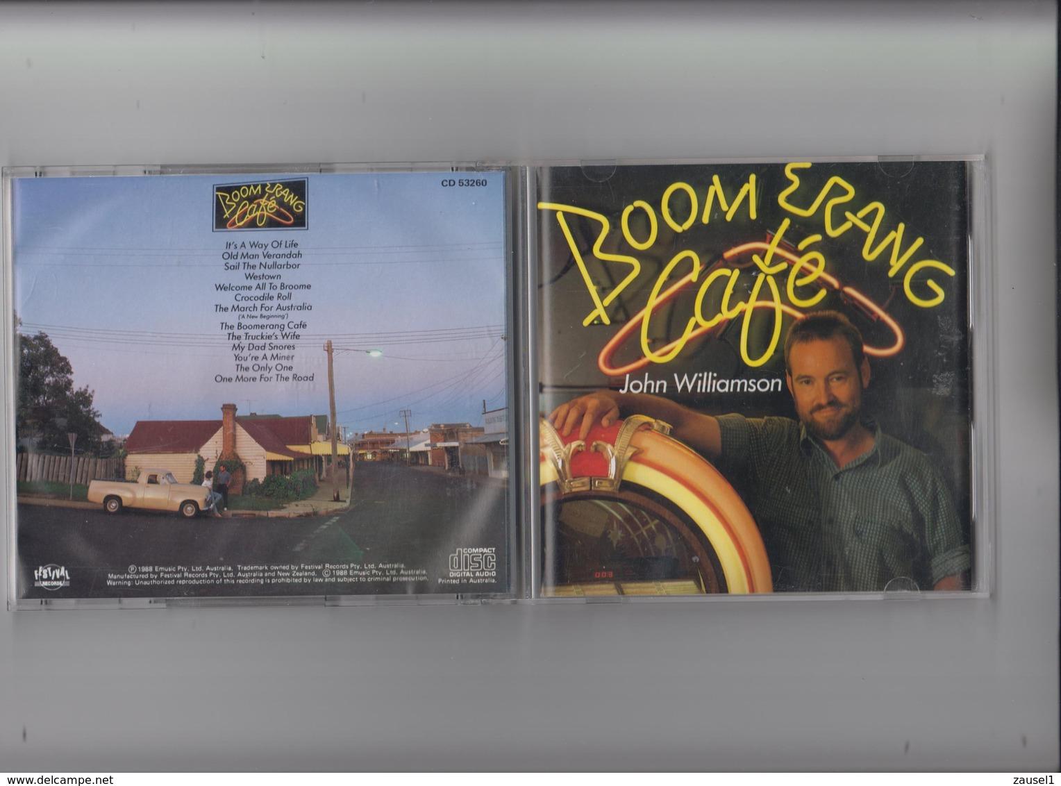 John Williamson - Boomerang Cafe -   Original CD - Country & Folk