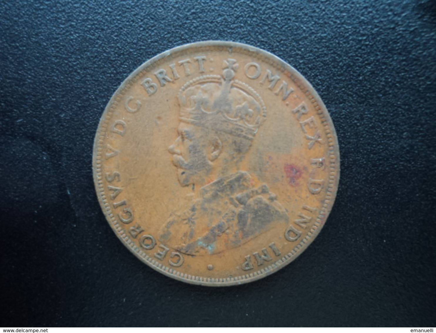 AUSTRALIE : 1 PENNY  1922 (m & Sy)  KM 23  TTB - Penny