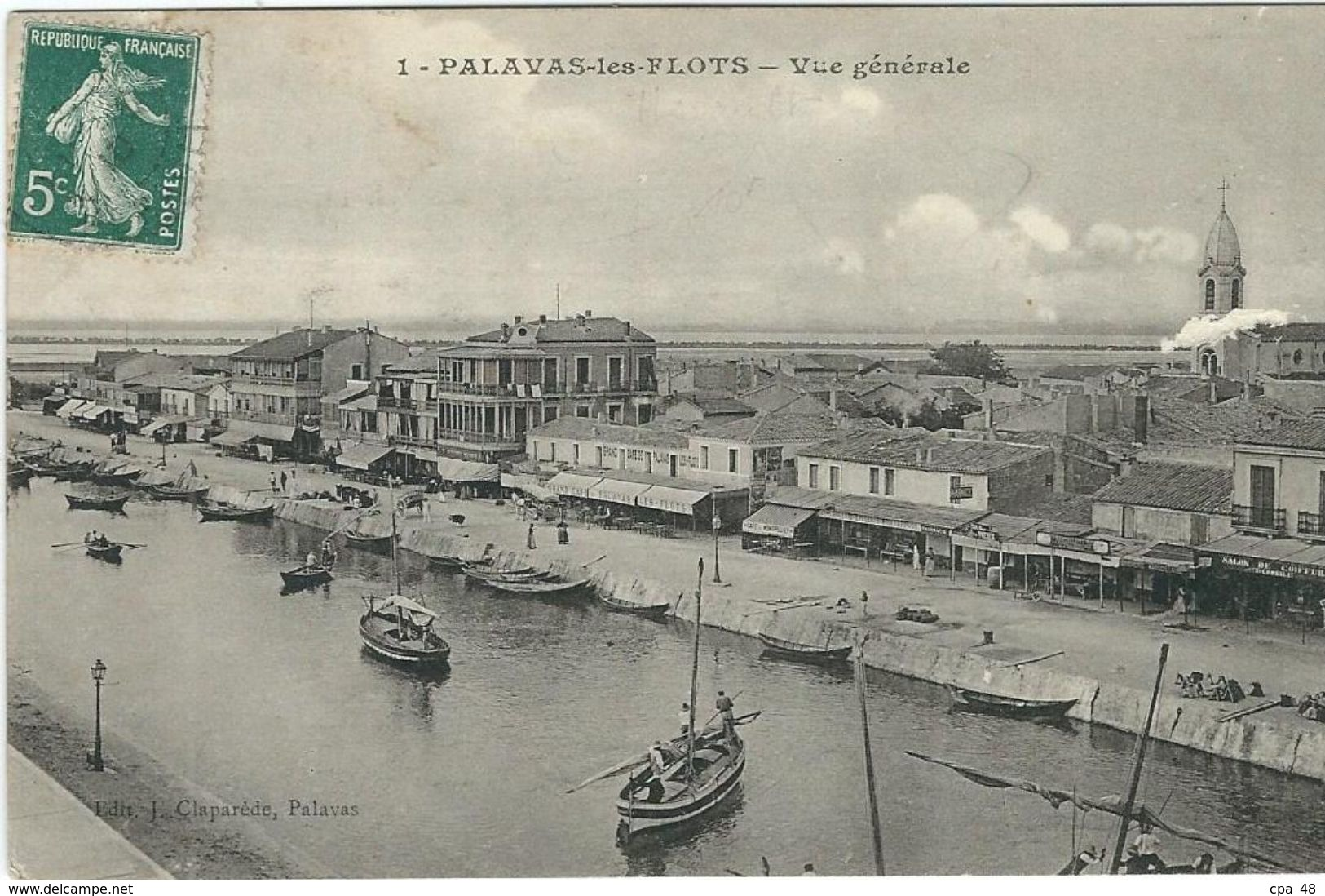 Herault : Palavas, Vue Générale - Palavas Les Flots