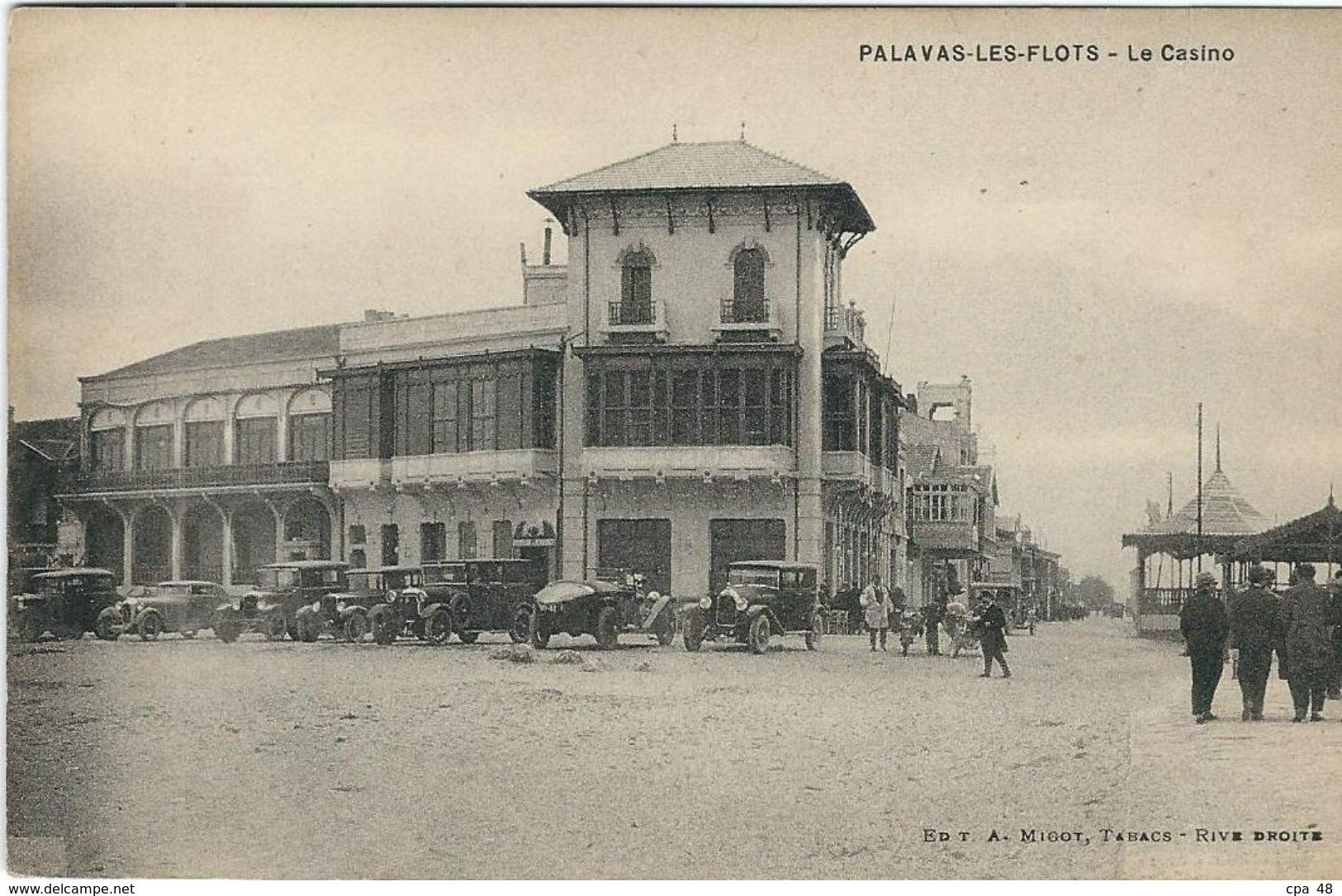 Herault : Palavas, Le Casino - Palavas Les Flots