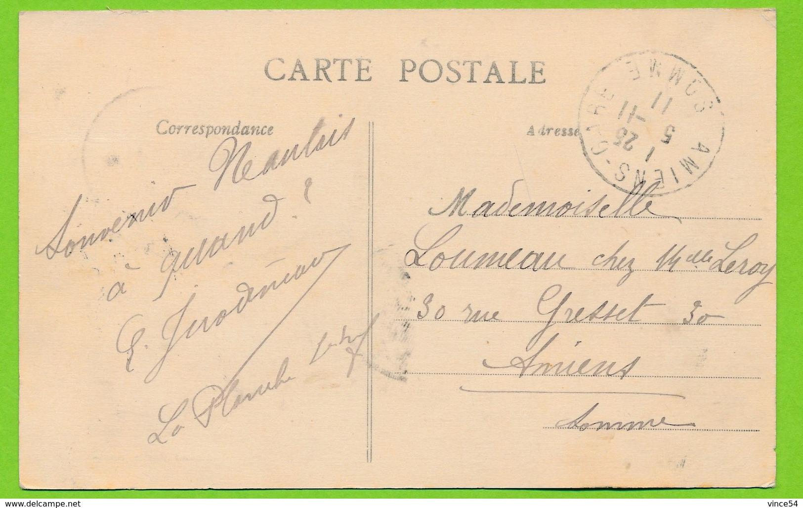NANTES - Jardin Des Plantes Carte Circulé 1911 - Nantes