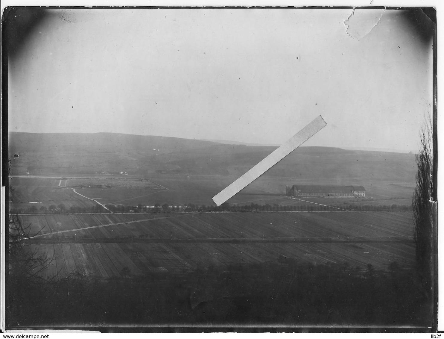 1914-1918 Arérodrome De Trèves Hangars à Zeppelins 1 Photo Aérienne Us Army 3è Armée 10th.squadron Ww1 - War, Military