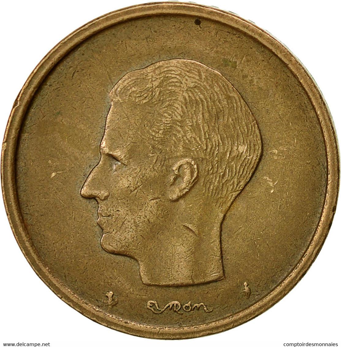 Monnaie, Belgique, 20 Francs, 20 Frank, 1980, TTB, Nickel-Bronze, KM:160 - 1951-1993: Baudouin I