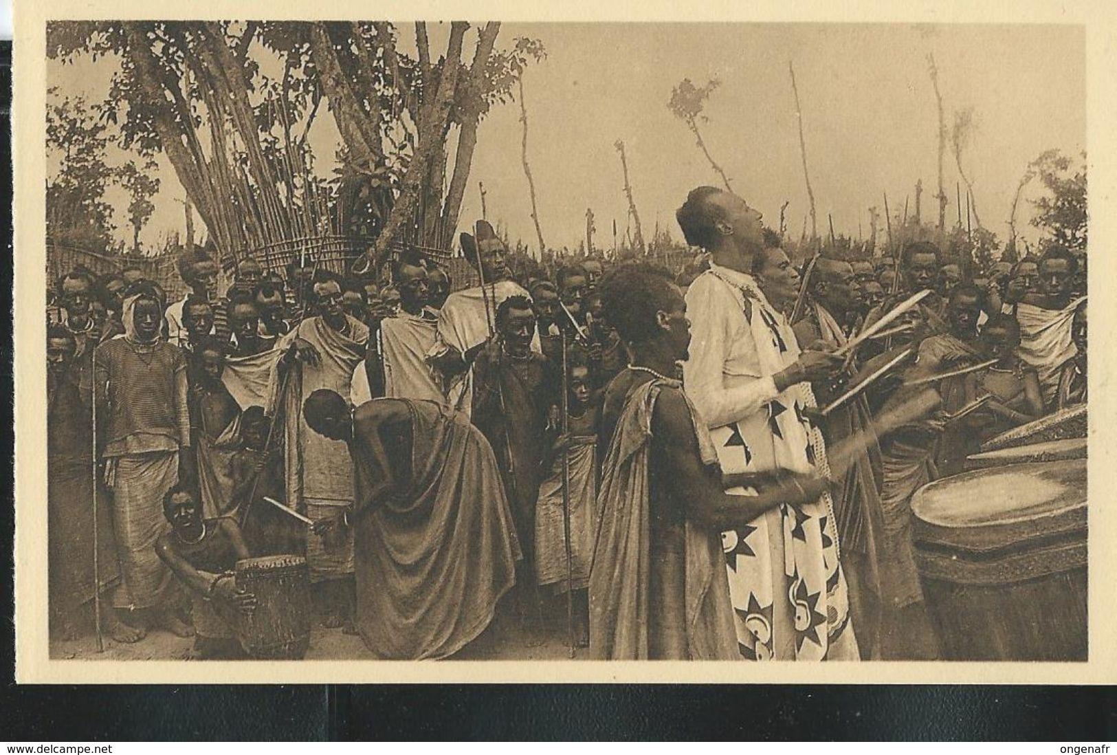 Carte Neuve : N°26: Ruanda. Musinga Battant Du Tambour (Edition: Jos. Dardenne. Série N° 1 Luxe) - Rwanda