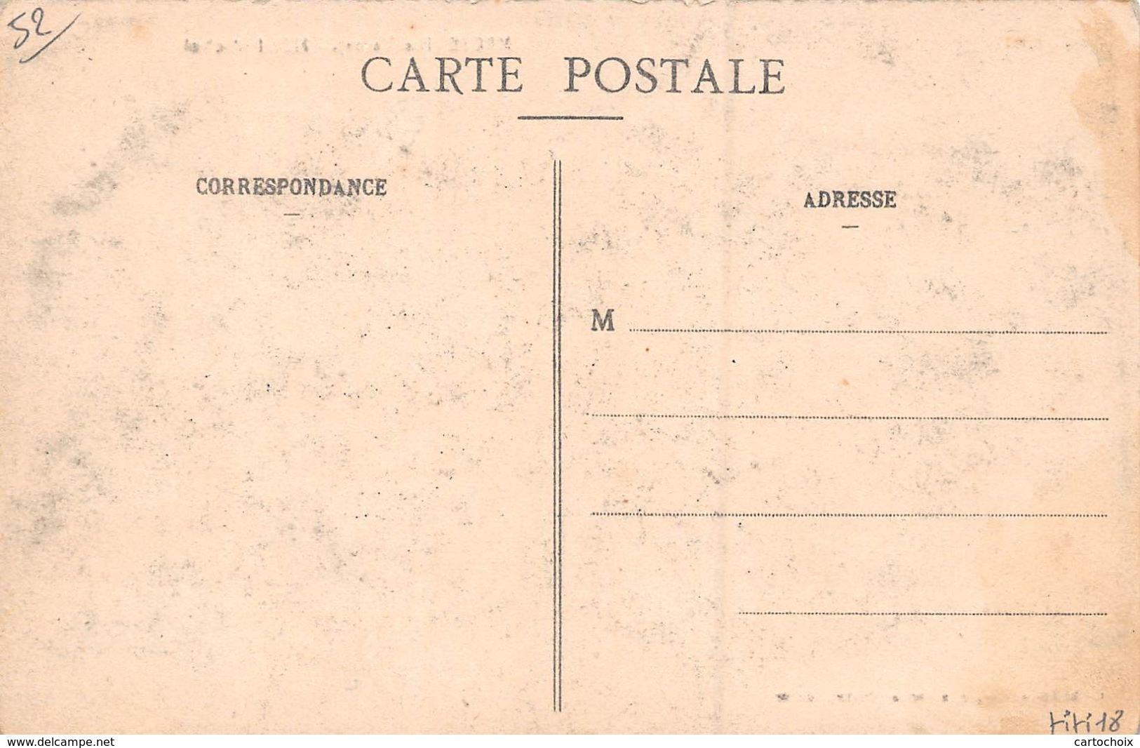 52 - Meuse - Hôtel Michel Animé - ( Café-restaurant ) - Autres Communes