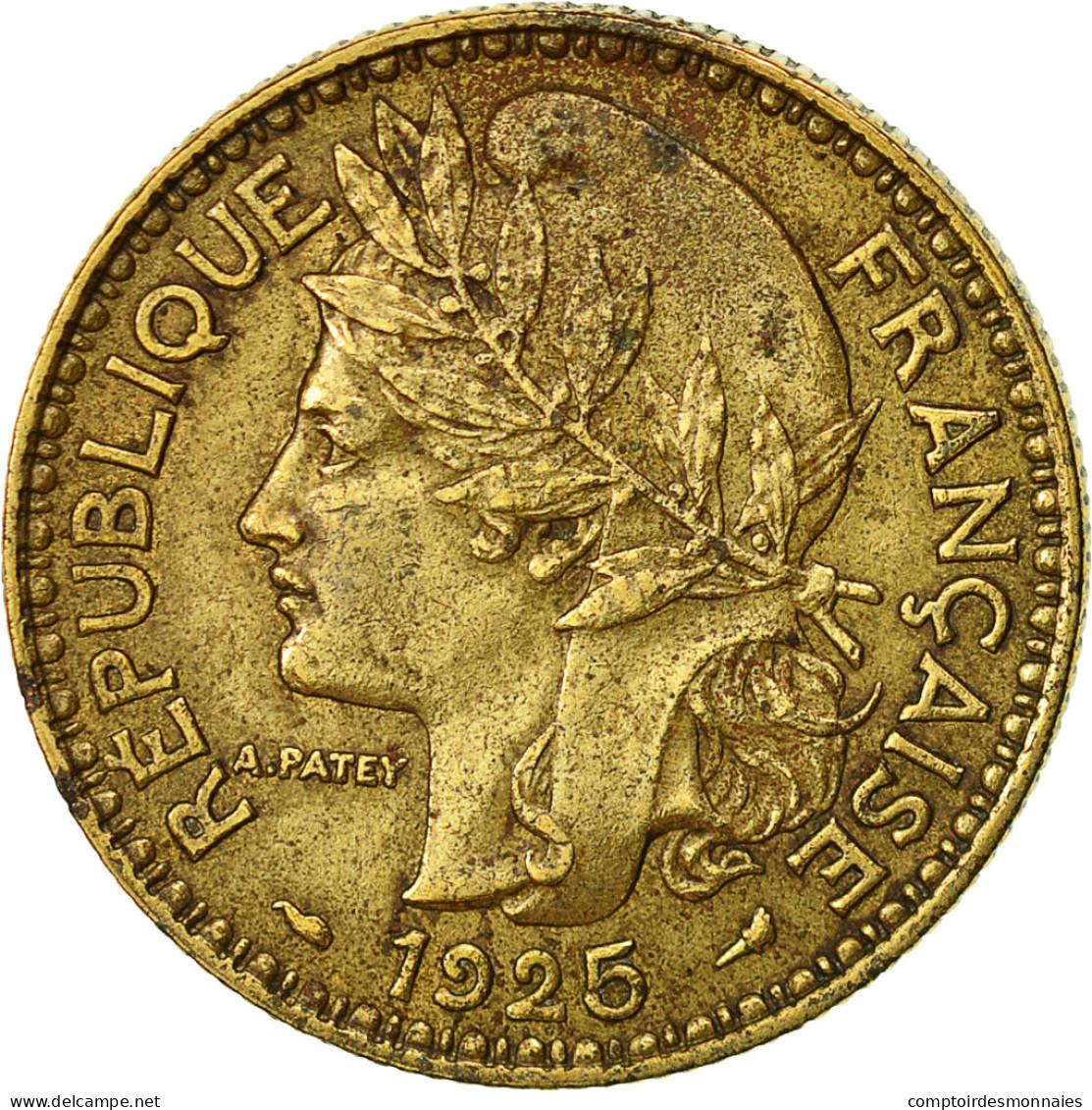 Togo, 2 Francs, 1925, Paris, TTB, Aluminum-Bronze, KM:3 - Togo