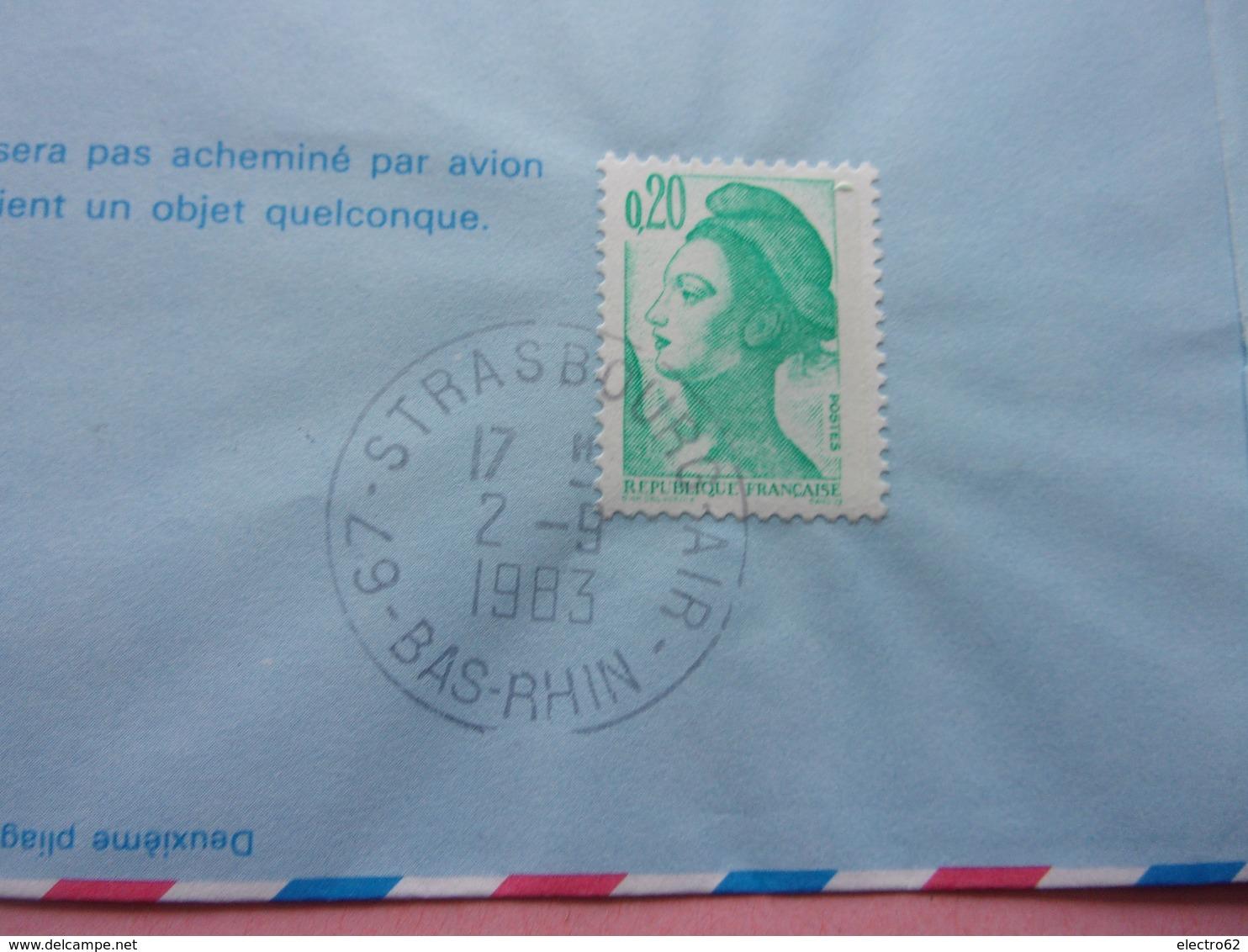 Aérogramme, Montgolfière, Premier Vol Strasbourg-Paris 1923, Louis Guidon - Montgolfières