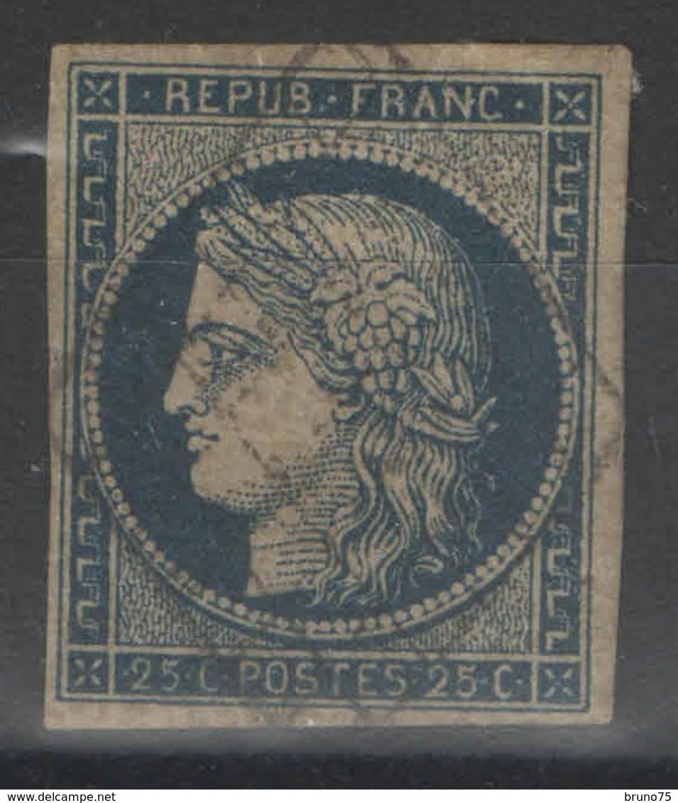 France - YT 4b Oblitéré - 1849-1850 Ceres