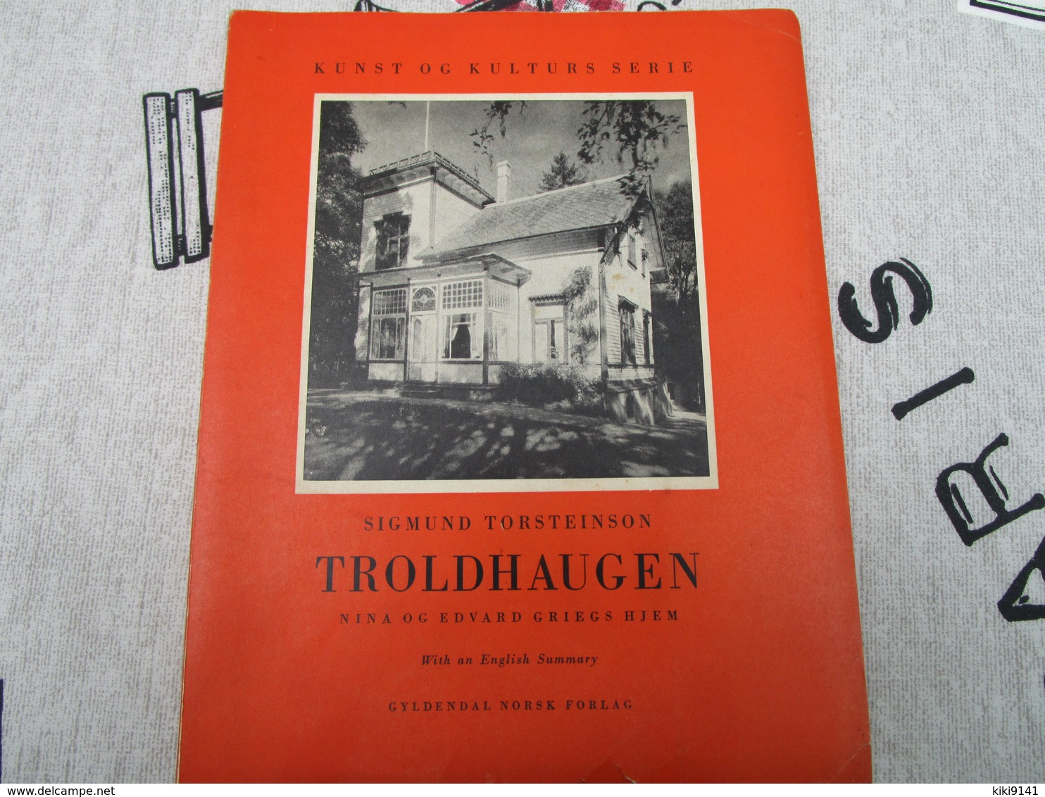 TROLDHAUGEN De Sigmund TORSTEINSON (96 Pages) Dédicacée Par L'Auteur - Scandinavian Languages