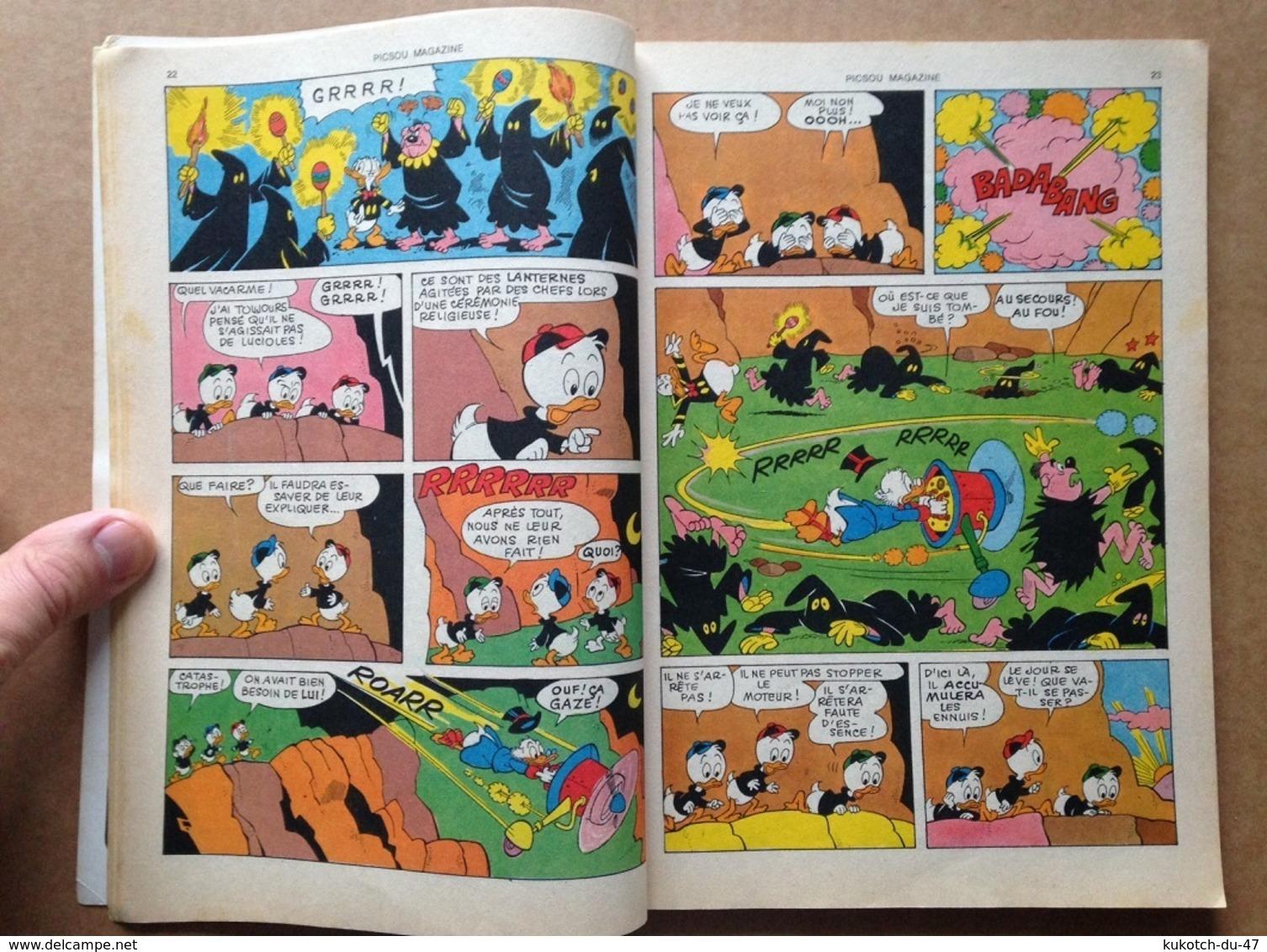 Disney - Picsou Magazine - Année 1976 - N°52 (avec Grand Défaut D'usure) - Picsou Magazine