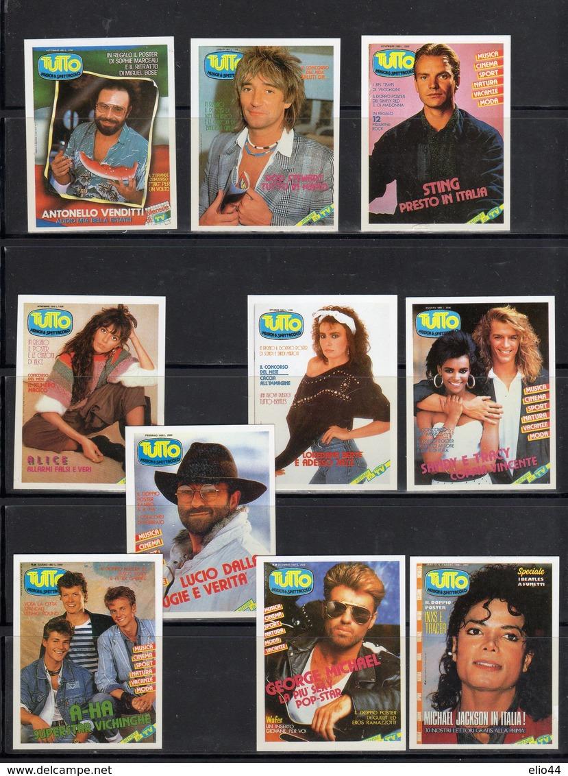 TUTTO - Mensile Spettacolo  Anni '80 - - Adesivi