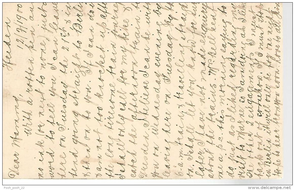 37759 ) Switzerland Cover See Scan Postcard - Lettres & Documents