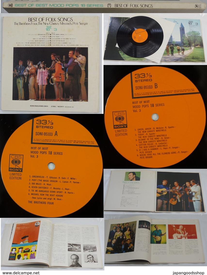 Vinyl LP :  Best Of Best Mood Pops 18 Series Vol. 3  Best Of Folk Songs - Country & Folk