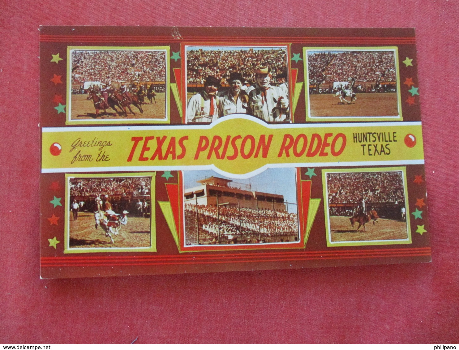 Texas  Prison Rodeo  Huntsville Texas  > --ref 2892 - Prison