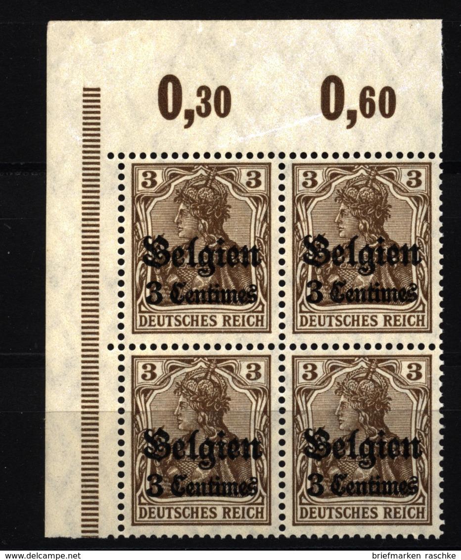 Belgien,1,ECK-VB,xx  (3750) - Besetzungen 1914-18