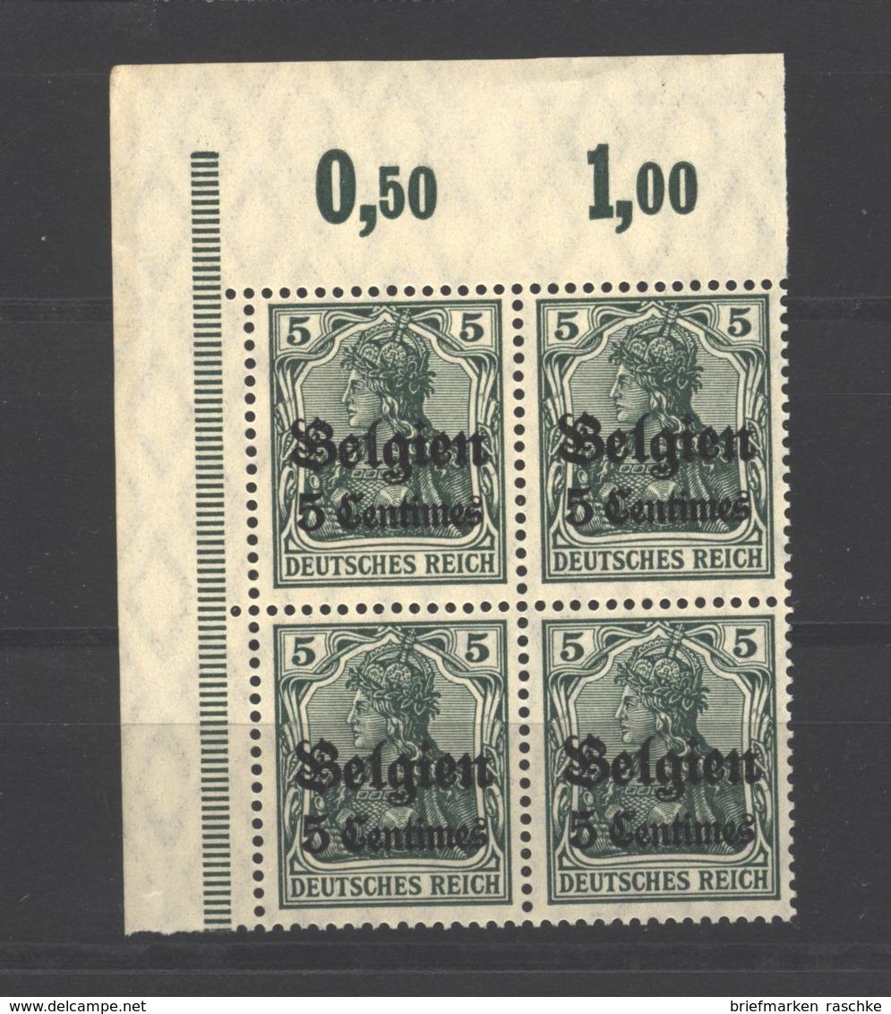 Belgien,2,ECK-VB,xx  (3750) - Besetzungen 1914-18
