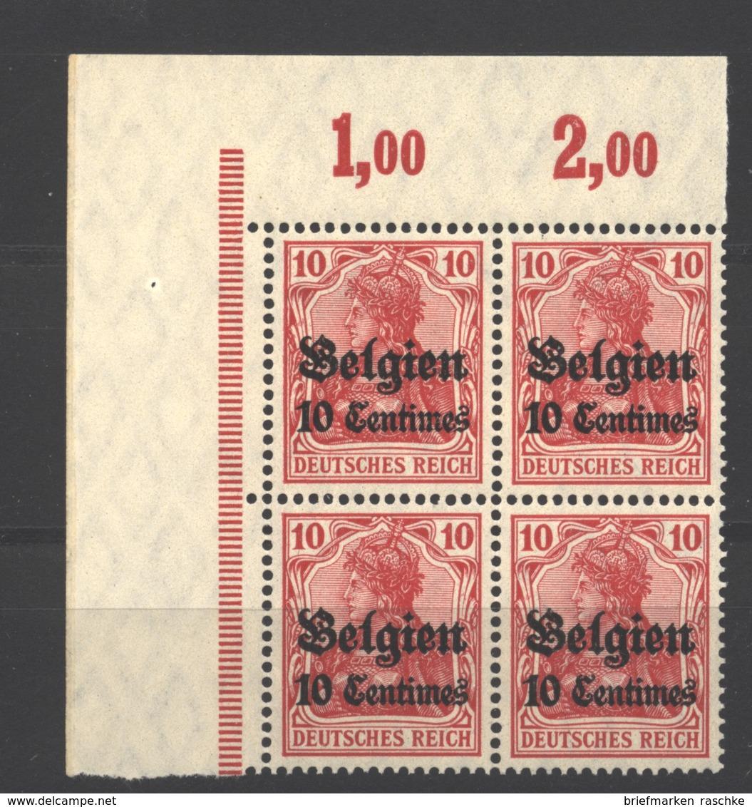 Belgien,3,ECK-VB,xx  (3750) - Besetzungen 1914-18