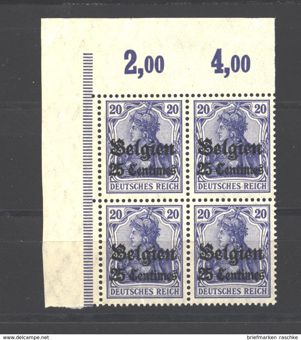 Belgien,4,ECK-VB,xx  (3750) - Besetzungen 1914-18