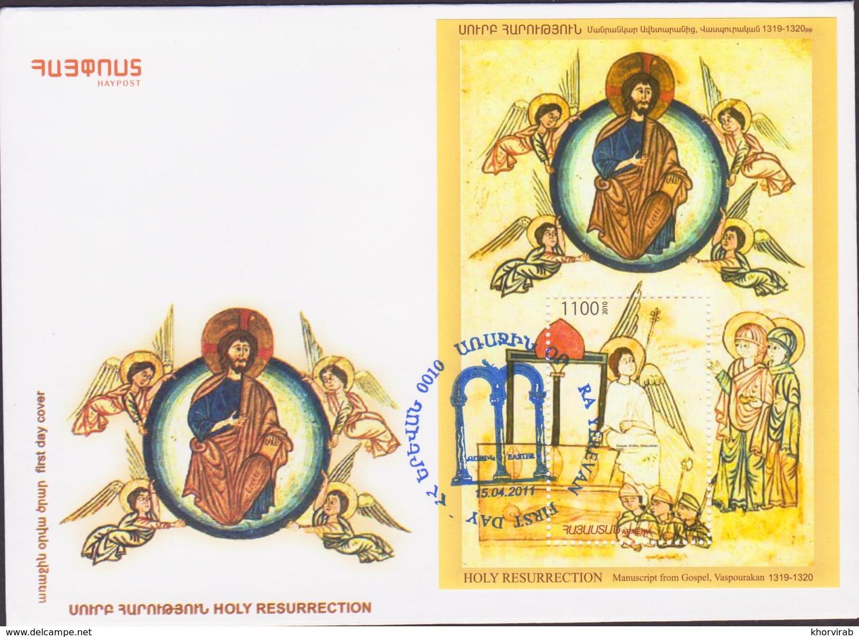 ARMENIA HOLY RESURRECTION 2011 FDC - Armenia