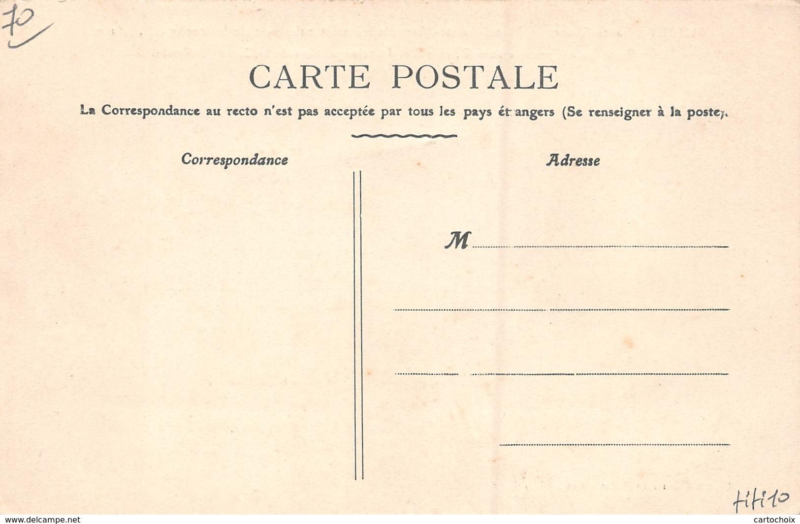 70 - Morey - Signal Ste-Marguerite - Poste De Télégraphe Sans Fil - Point Culminant De La Roche - ( Alt.451 M ) - Autres Communes