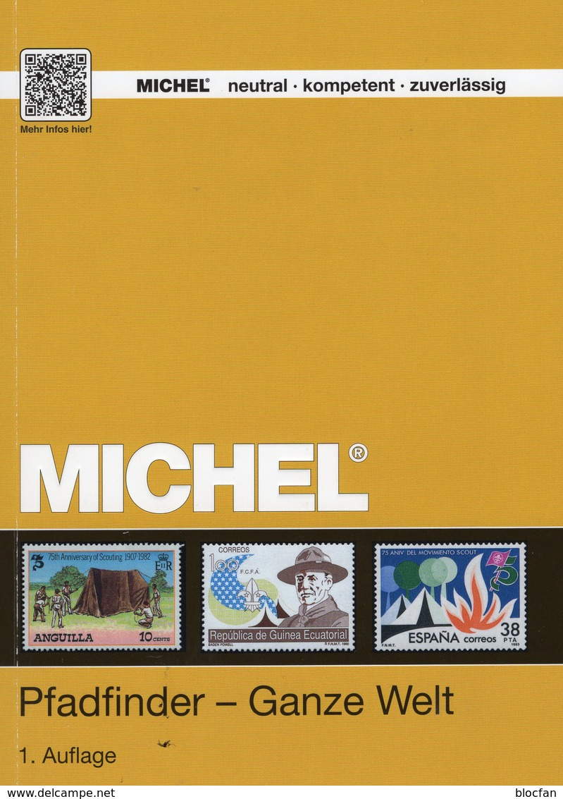Pfadfinder Katalog MlCHEL 2018/2019 Neu 70€ Scouts Alle WELT Stamp S/s Catalogue Of The World ISBN978-3-95402-197-0 - Saber