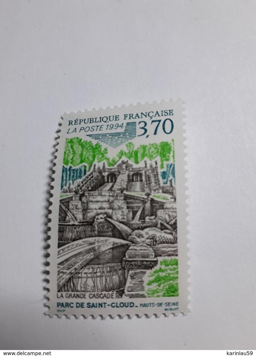 Timbre France 1994, Cascade Du Parc De St Cloud (Yvert 2905 ) Neuf - France