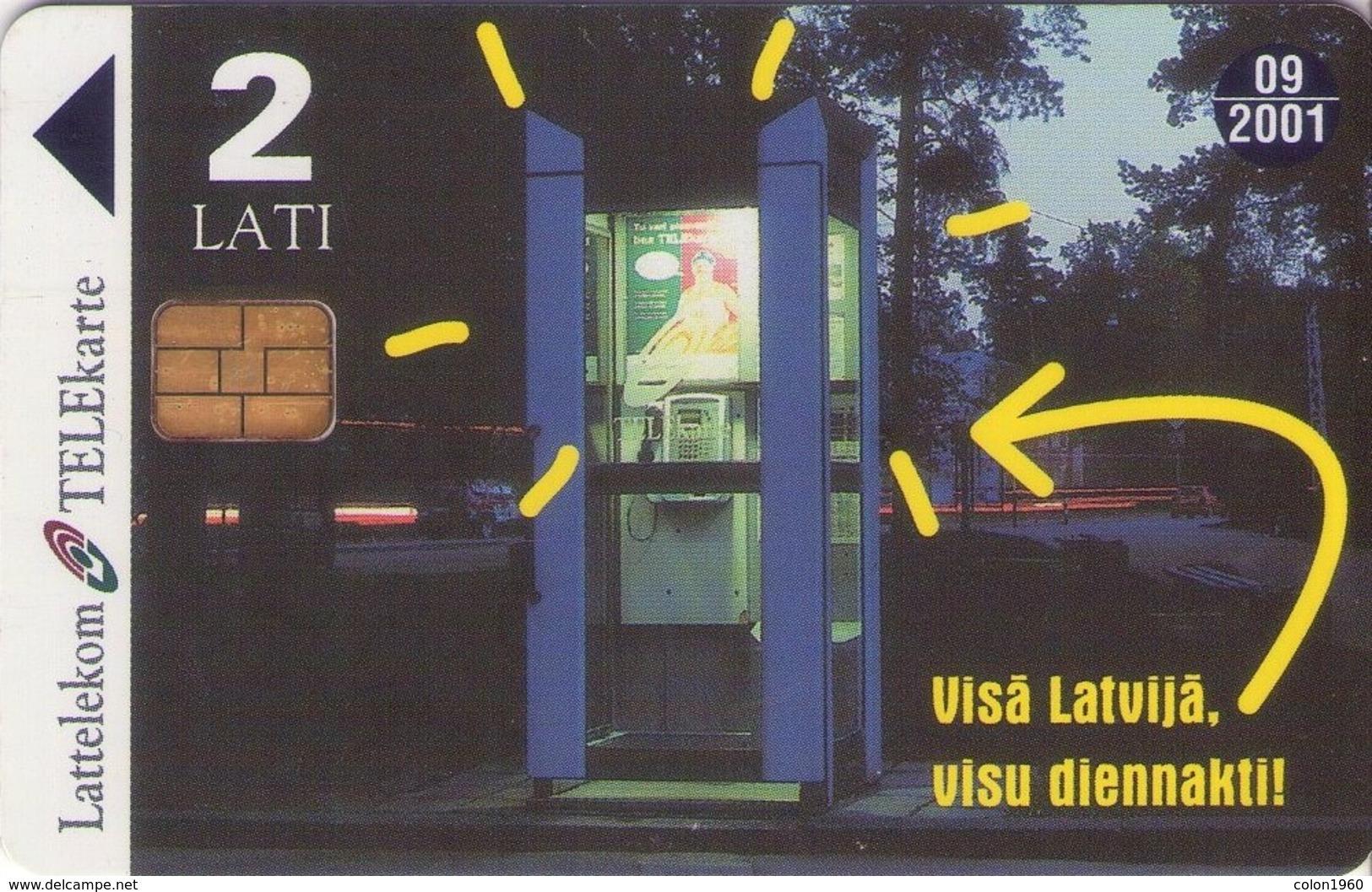 TARJETA TELEFONICA DE LETONIA, (071) - Latvia