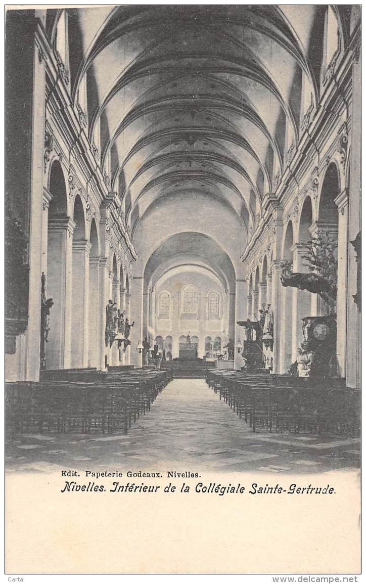 NIVELLES - Intérieur De La Collégiale Sainte-Gertrude - Nivelles