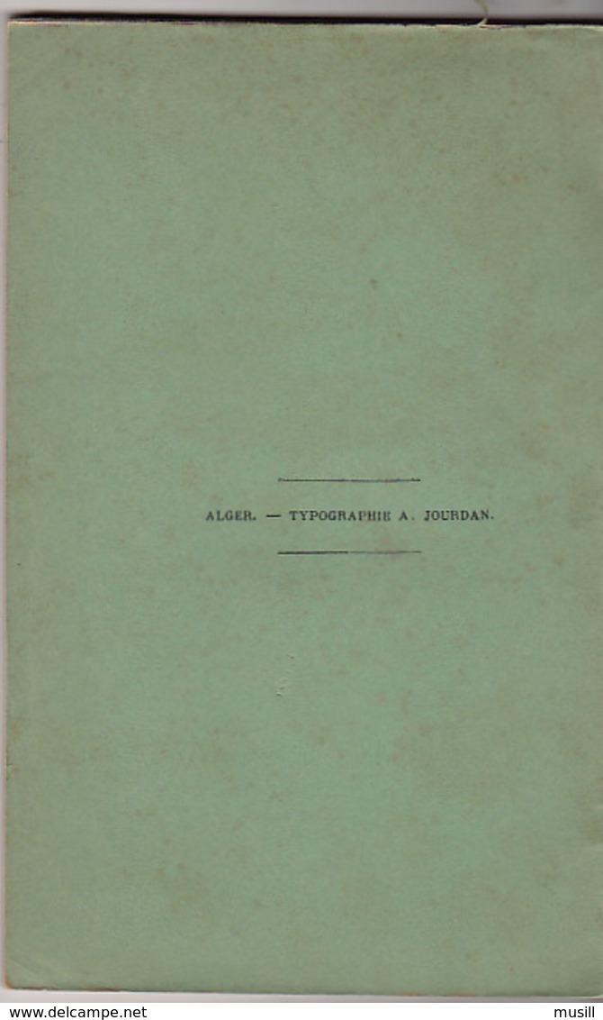 La Mo'allaka De Zohair. Lâmiyya D'ibn El Ouardi. Quelques Poésies Extraites Du Divan De Ali Ben Abi Tâlib. A. Raux. - Poésie