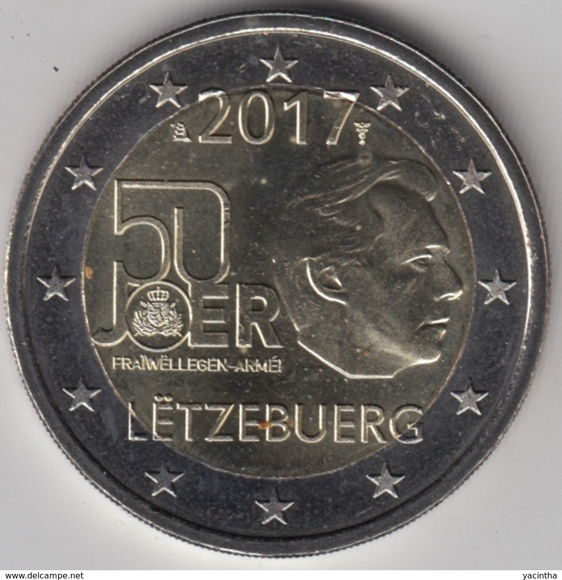 @Y@   Luxemburg    2  Euro  2017  Commemorative  UNC - Luxemburg