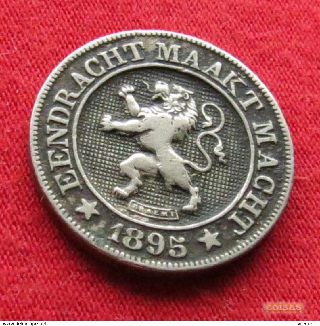 Belgium 10 Centimes 1895 Der Belgen Belgique Belgica Belges - Belgique
