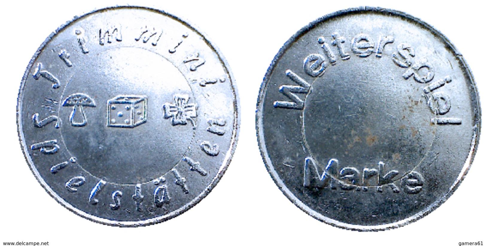 03425 GETTONE TOKEN JETON GAMING SPIELMARKE TRIMMINI SPIELSTATTEN WEITERSPIEL MARKE - Allemagne