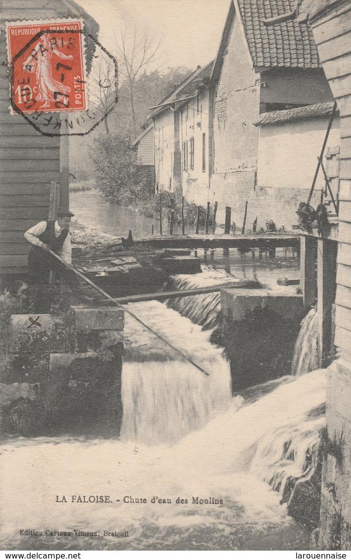 80 - LA FALOISE - Chute D' Eau Des Moulins - France