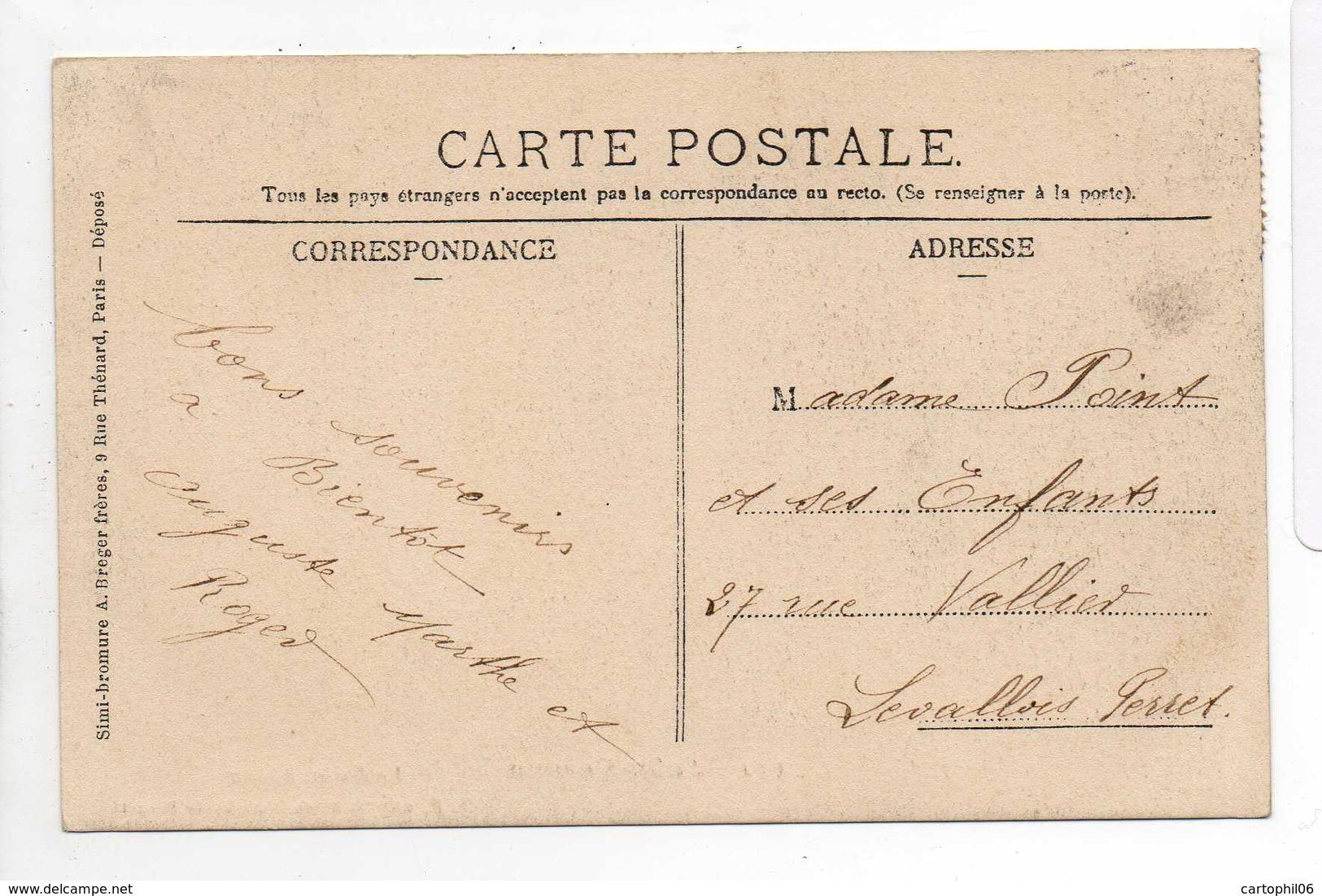 - CPA SAINT-QUENTIN (02) - Le Jeu De Paume 1905 (belle Animation) - Edition C. Bloch 111 - - Saint Quentin