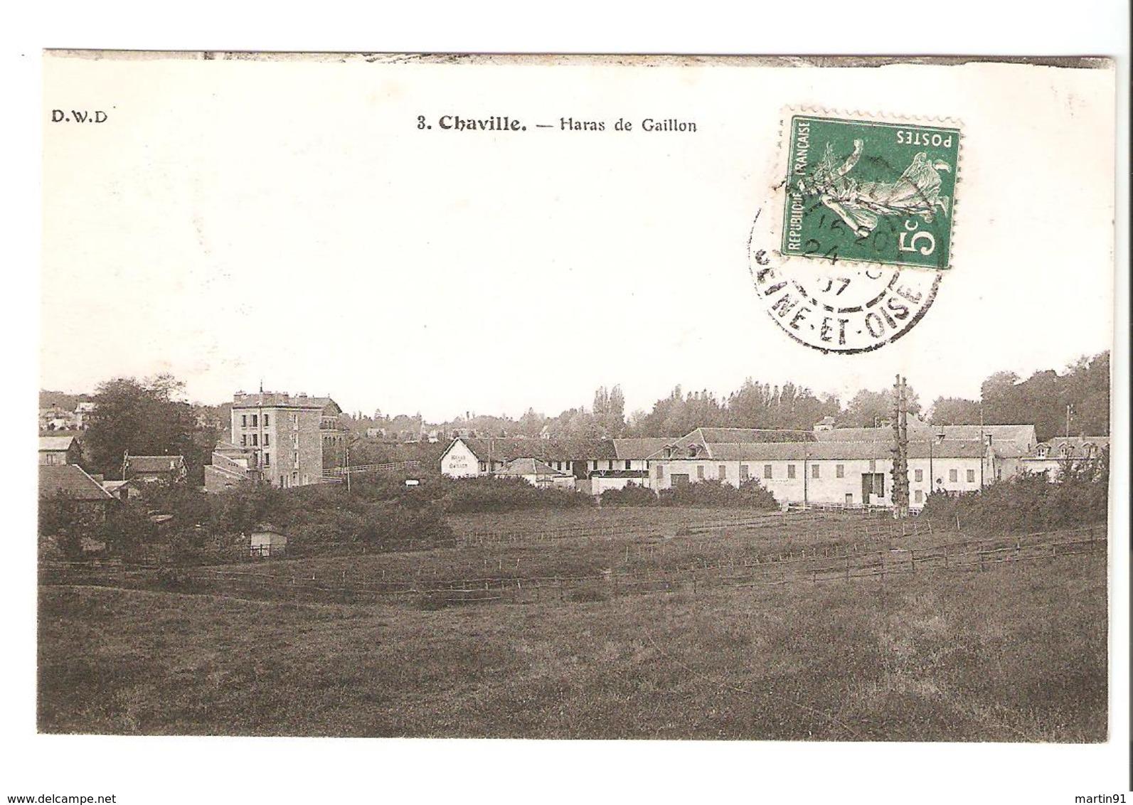 Chaville - Haras De Gaillon 1907 - Chaville