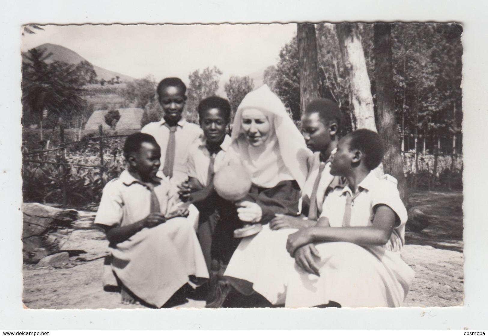 RUANDA - BIRAMBO / MISSION DES RELIGIEUSES DE L'ASSOMPTION - LECON DE GEOGRAPHIE - Ruanda-Urundi