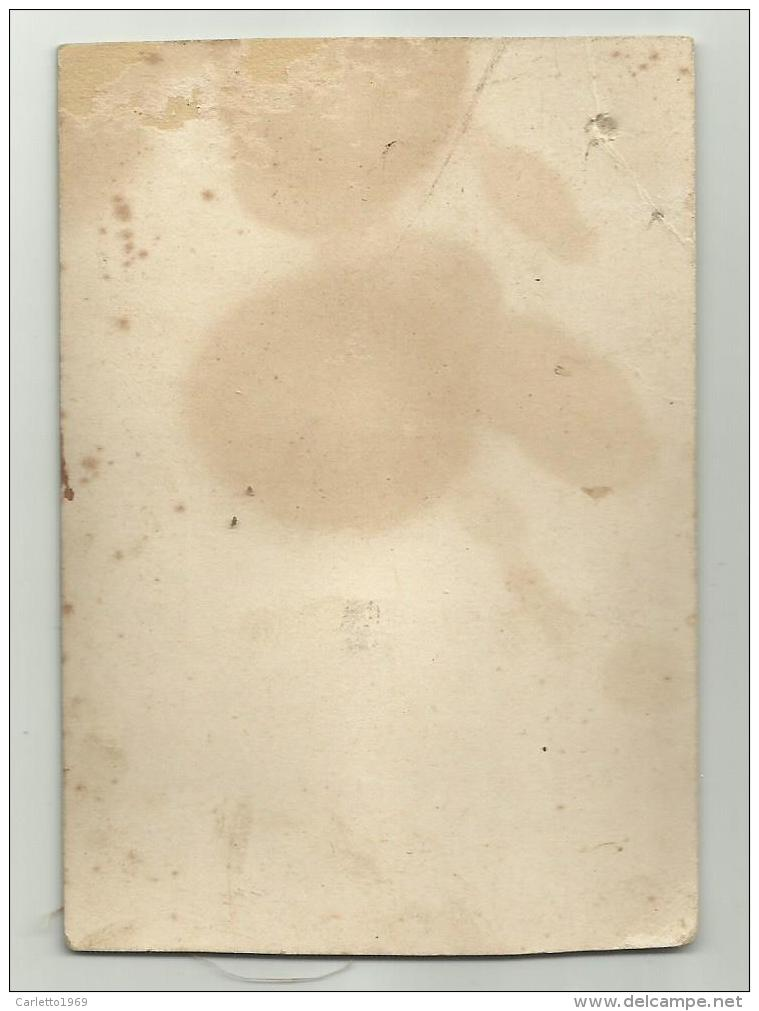 GESU' BAMBINO CROMOLITOGRAFIA AUGURALE - FIGURA 3D PRIMI 900 CM. 11,5X8 - Other