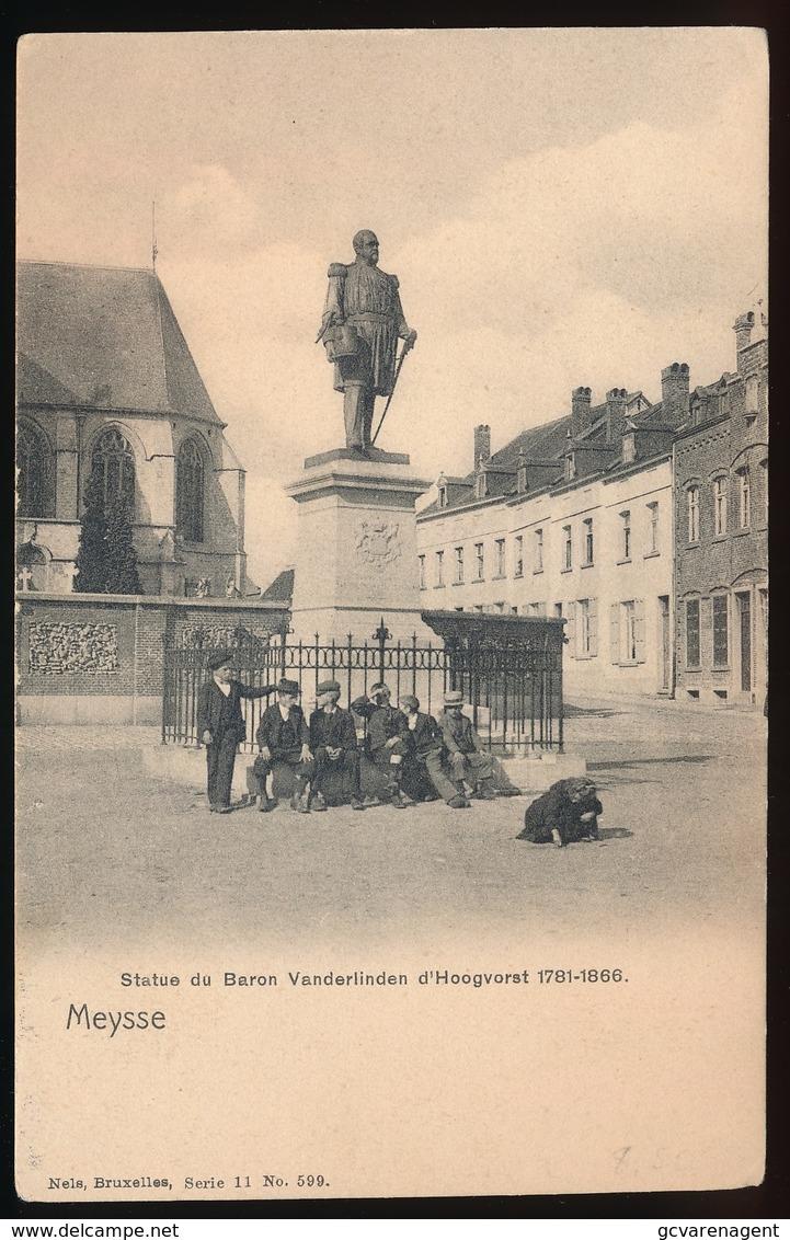 MEYSSE - MEISE - STATUE DU BARON VANDERLINDEN D'HOOGVORST - Meise