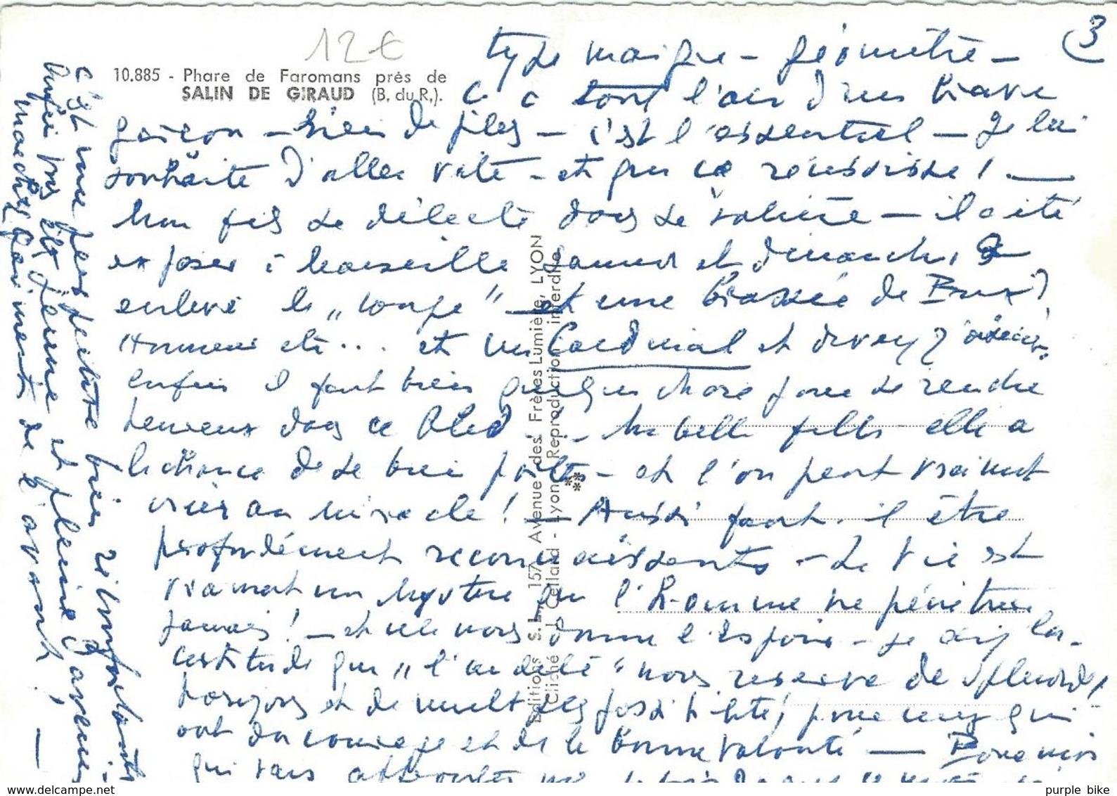 Dpt 13 Salin De Giraud Phare De Faromans Près De  TTBE - Frankreich