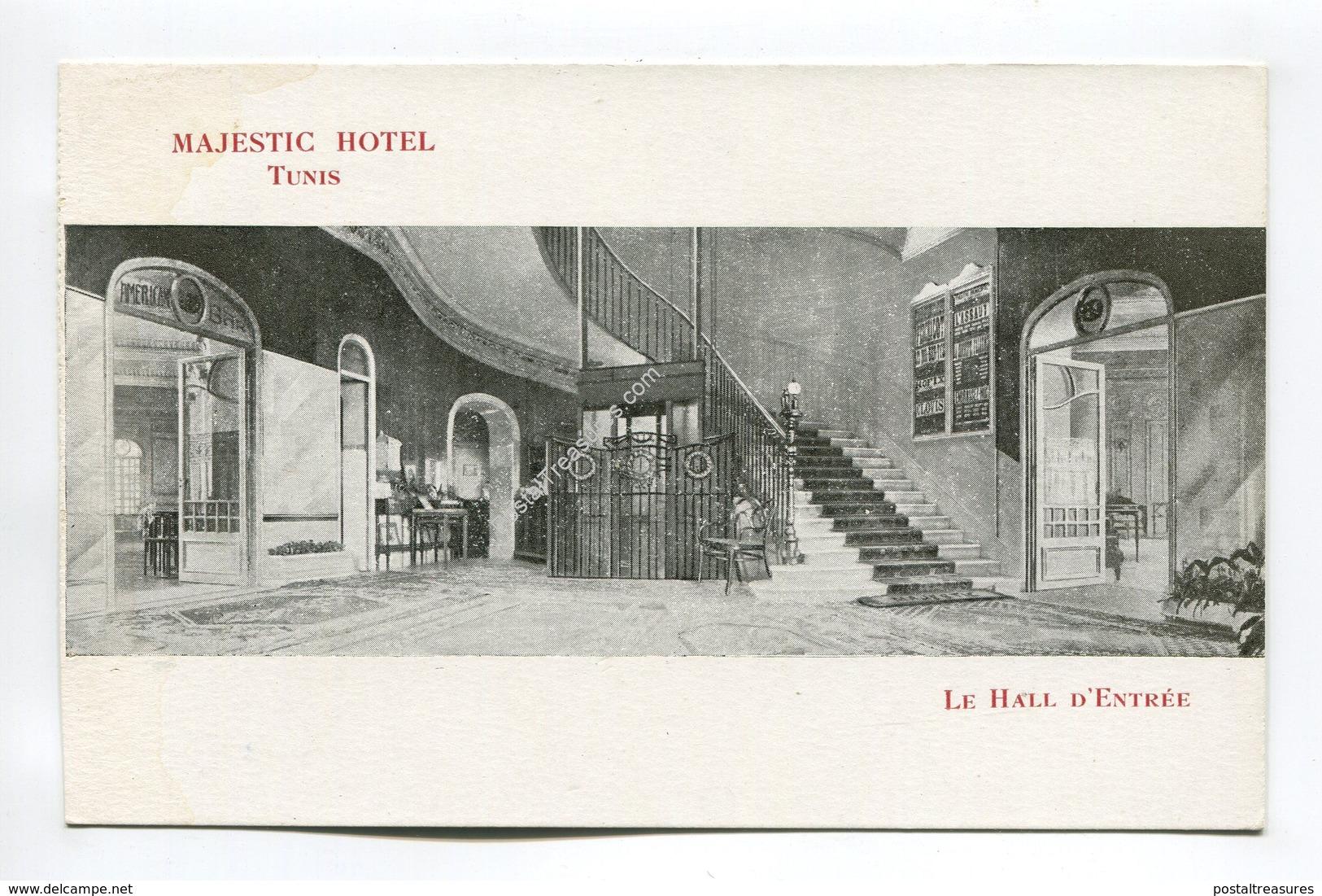 Le Hall D'Entree Majestic Hotel Tunis - Tunisia