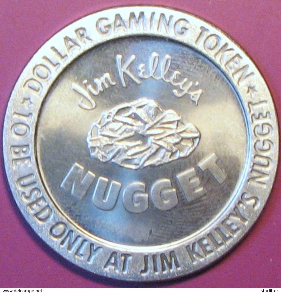 $1 Casino Token. Nugget, Reno, NV. 1966 NEW. D05. - Casino